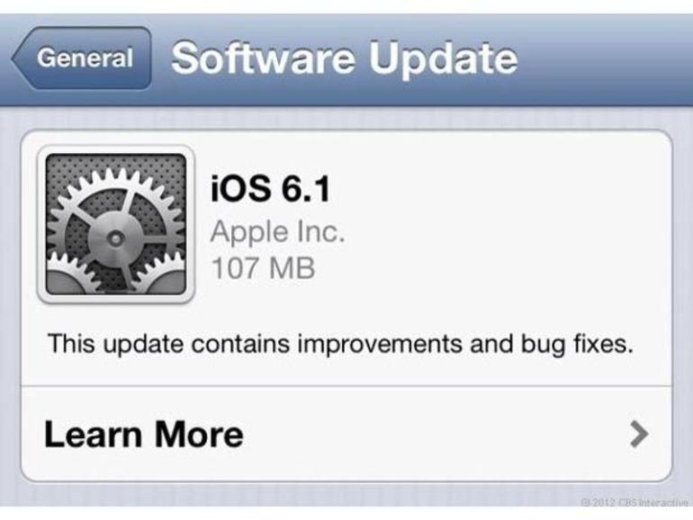 iOS 6.1 : le bug avec Exchange bientôt corrigé