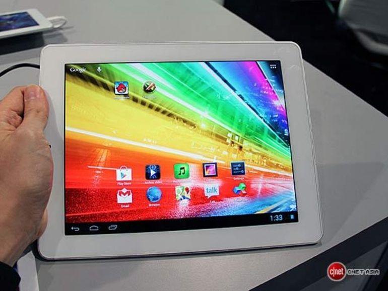 Archos lance sa nouvelle gamme de tablettes Android Platinum