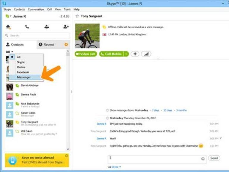 Windows Live Messenger s'effacera devant Skype à partir du 8 avril