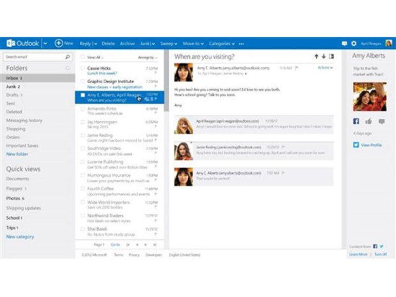 Outlook.com : fin de la phase bêta
