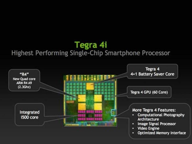 Tegra 4i : nVidia amène la 4G dans les smartphones