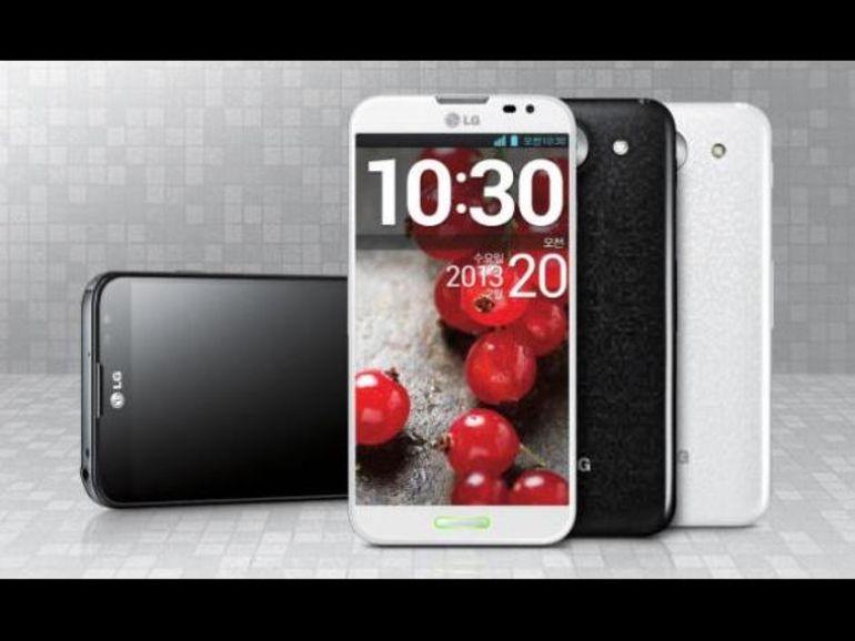 MWC 2013 : LG a présenté l'Optimus G Pro