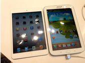 Samsung Galaxy Note 8 : prise en main face à l'iPad Mini (vidéo)