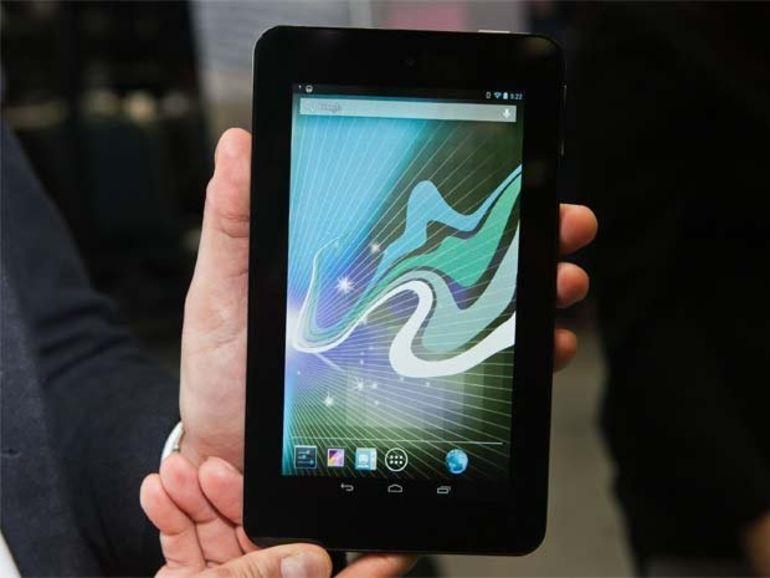 MWC 2013 : HP Slate 7, la tablette Android minimaliste