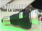 MWC 2013: Lifi, l'internet par la lumière 10 fois plus rapide que le WiFi