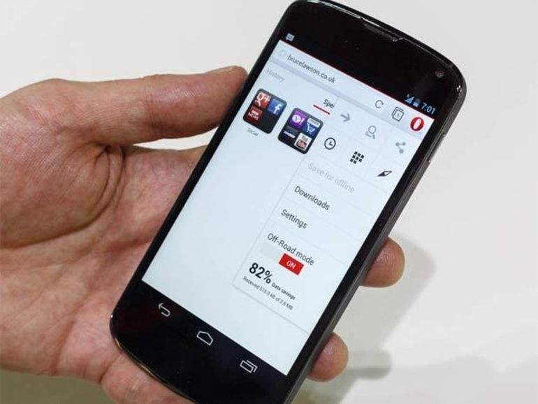 MWC 2013 : préversion du nouvel Opera pour Android