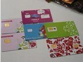 MWC 2013 : des cartes nano-SIM en carton au même prix que les cartes en plastique