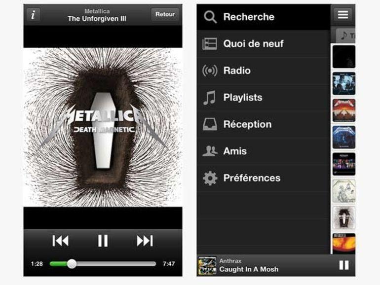 Spotify pour iOS se dote d'une nouvelle interface