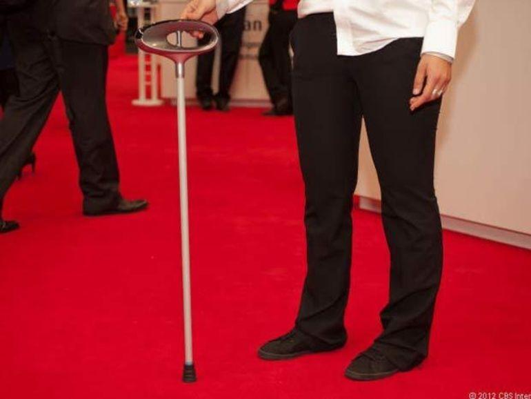 MWC 2013 : Fujitsu présente une canne intelligente pour les seniors