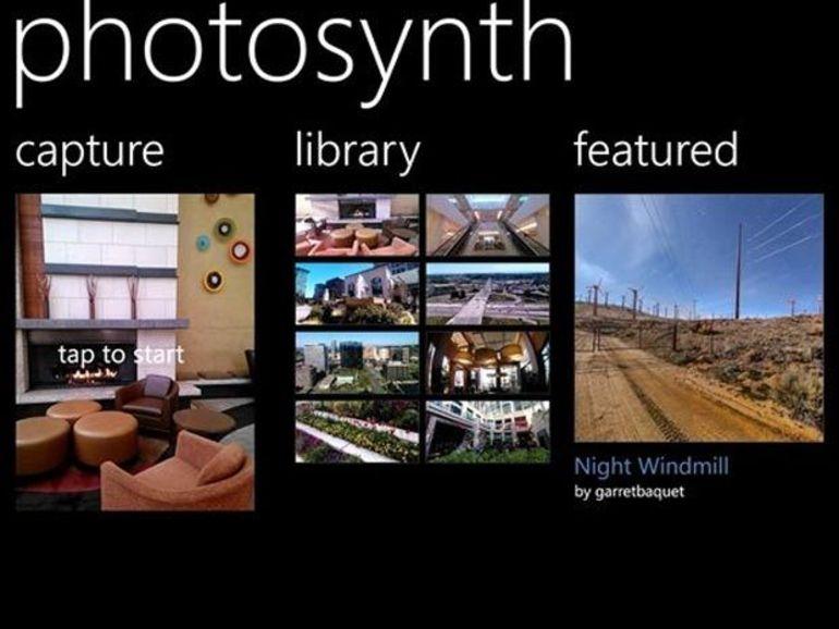 Photosynth disponible sur Windows Phone 8 et 7.5