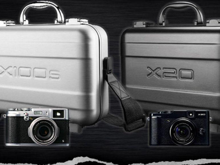 """Mallette """"collector"""" pour les Fujifilm X100s et X20"""