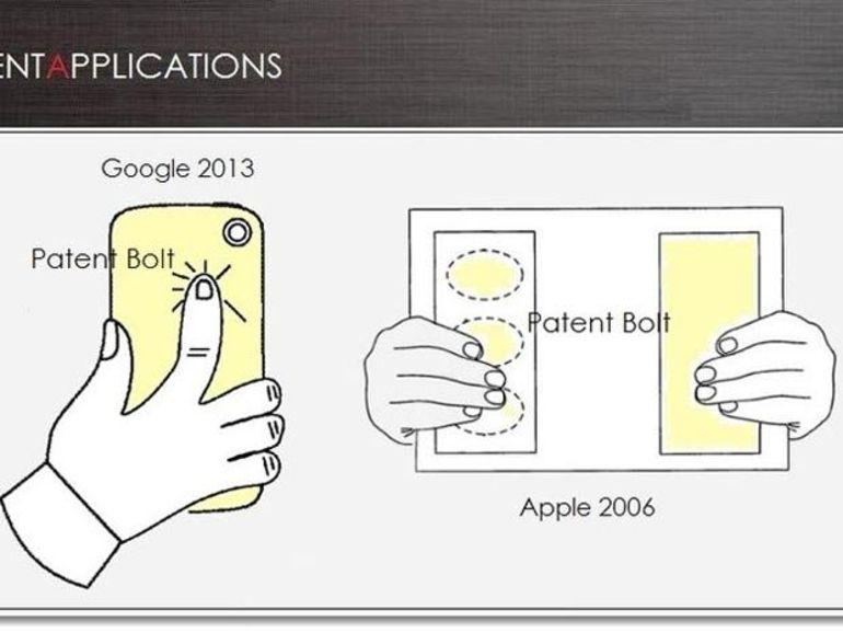 Un brevet Google pour rendre tactile le dos des smartphones Android