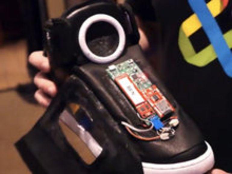 Google présente une chaussure qui parle
