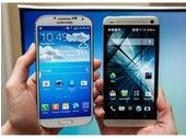 Samsung Galaxy S4 vs HTC One vs Sony Xperia Z vs iPhone 5, le face à face technique