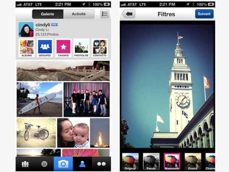 L'application Flickr pour iOS s'enrichit des hashtags