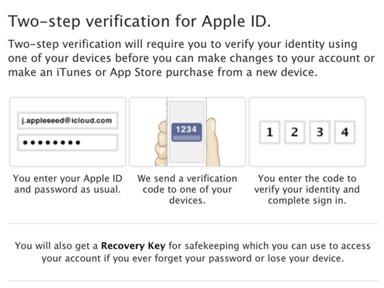 Apple : la double sécurité pour les comptes activés dans certains pays
