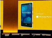 Pandora disponible gratuitement et sans limitation pour Windows Phone 8