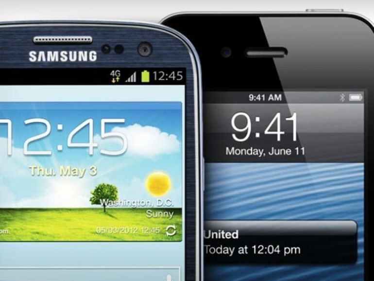 Twitter plus emballé par l'iPhone 5 que le Galaxy S4