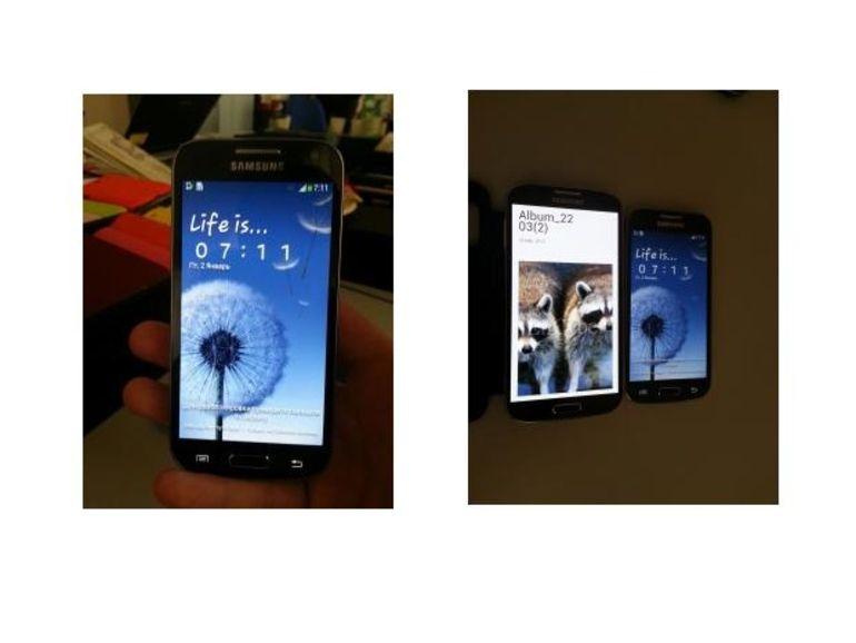 Samsung : les premières photos du Galaxy S4 mini