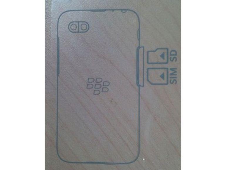 Le futur BlackBerry d'entrée de gamme doté d'emplacements microSD et microSIM