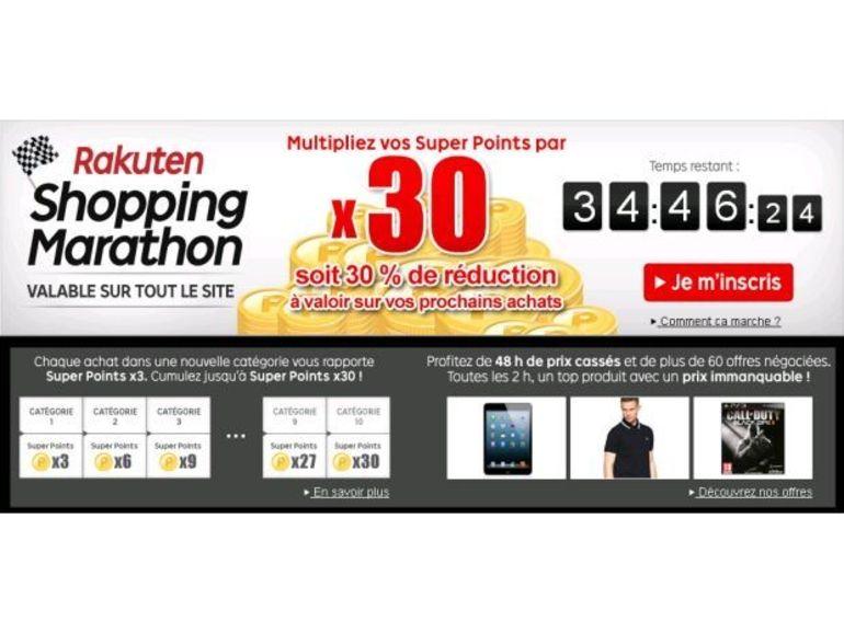 Shopping Marathon chez PriceMinister : vos achats vous rapportent !