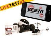 BeeWi, test de l'hélicoptère, voiture et robot contrôlés par smartphone