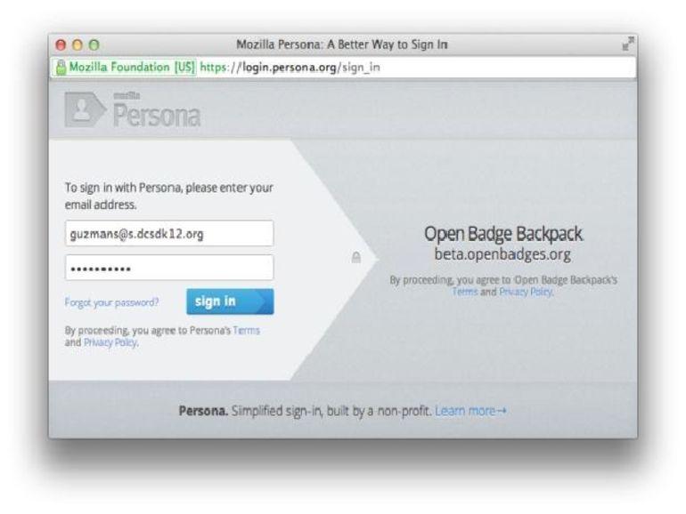 Mise à jour de Persona, le système d'authentification centralisée de Mozilla