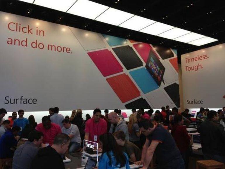 Microsoft prépare une Surface de 7 pouces