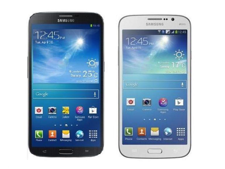 Galaxy Mega : deux nouvelles phablets officialisées par Samsung