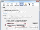 Firefox 22 : le blocage des cookies est en place