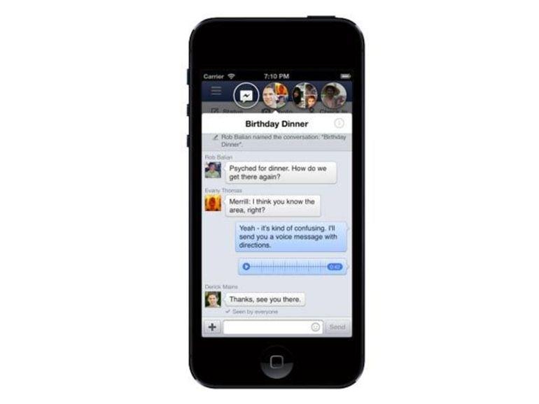 Facebook 6.0 apporte les Chat Heads sur iOS