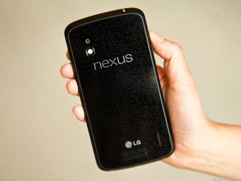 Un Nexus 4 amélioré à la conférence à Google I/O ?