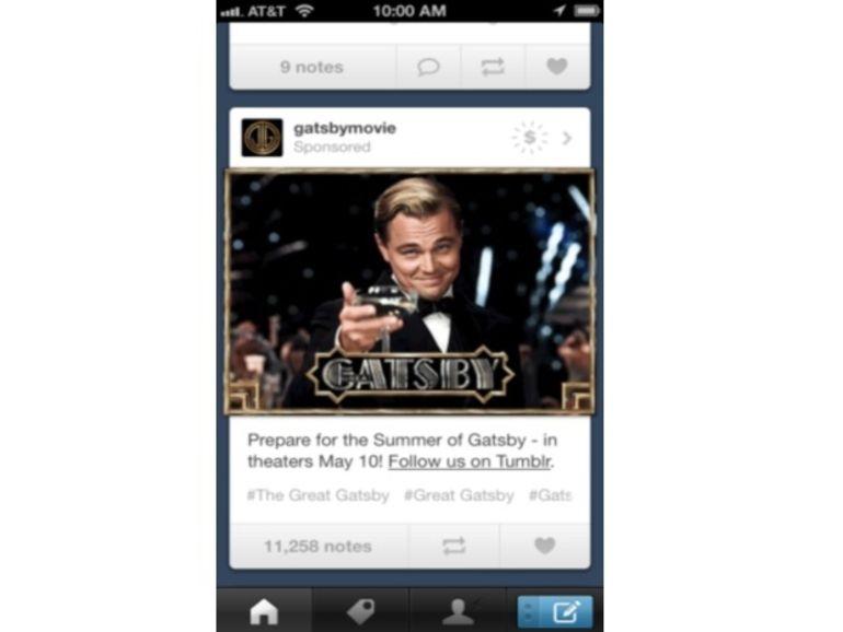 Tumblr ajoute les pubs à ses applis mobiles