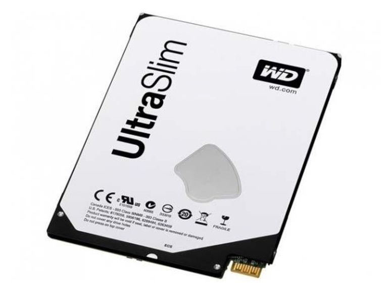 Western Digital sort son premier disque hybride 2,5 pouces ultrafin