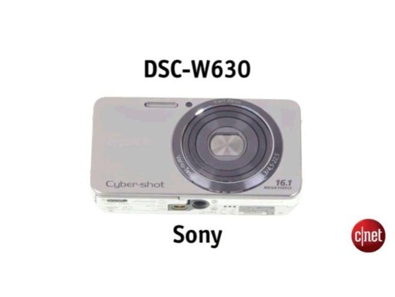 Bon plan pour l'été : un APN compact Sony Cyber-shot DSC-W630 à 79 €
