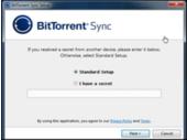 Bittorrent Sync: service de stockage en mode peer to peer