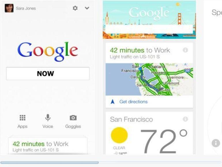 L'assistant prédictif Google Now disponible sur iOS