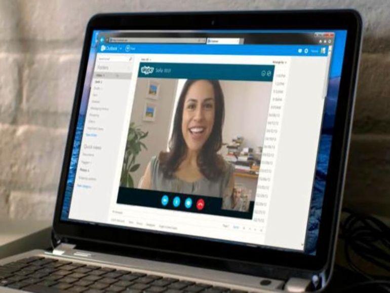 Skype s'invite dans Office Online
