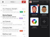Gmail pour iOS lié directement aux applications Google