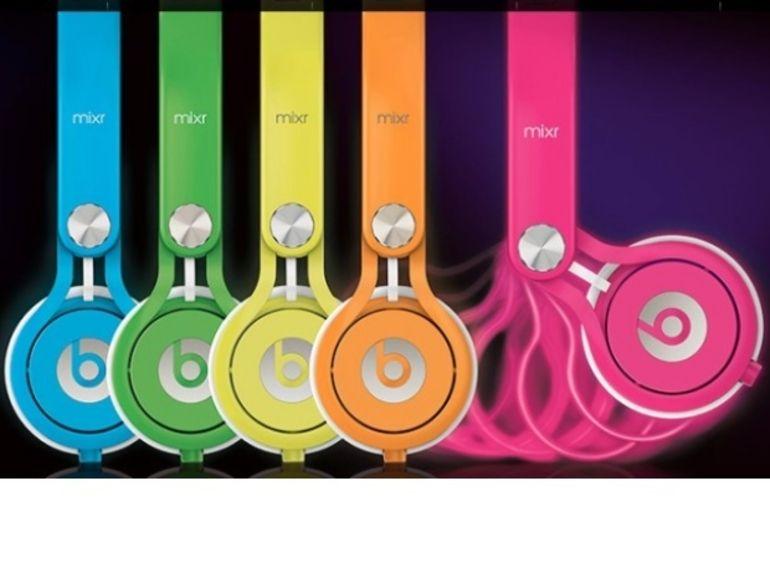 Néon Mixrs, les Beats by Dr Dre en couleur