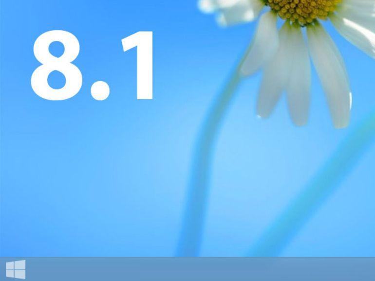 Windows 8.1, nom définitif de la mise à jour dévoilée le 26 Juin
