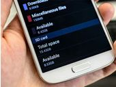 Samsung compte optimiser le stockage interne du Galaxy S4
