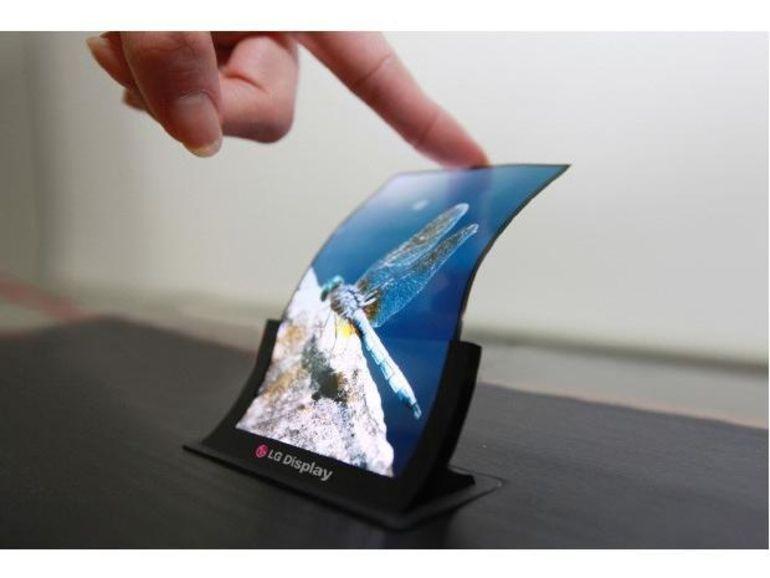 LG dévoilera bientôt son écran OLED souple et incassable