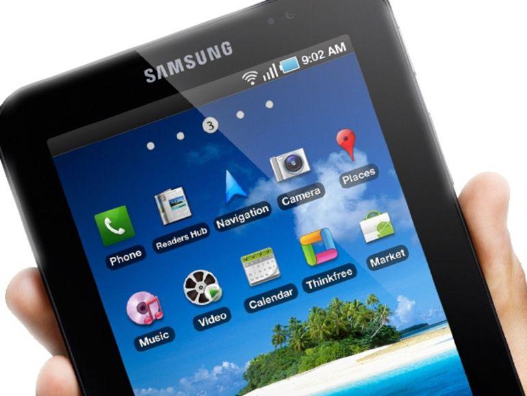 Bientôt une tablette Samsung de 10,5 pouces avec écran AMOLED ?