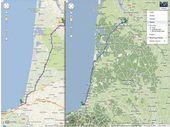 Les itinéraires à vélo de Google Maps disponibles en France