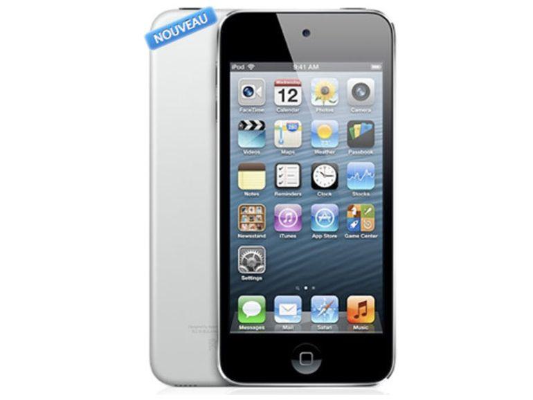 Nouvel iPod touch 5G : 16 Go pour 249 €