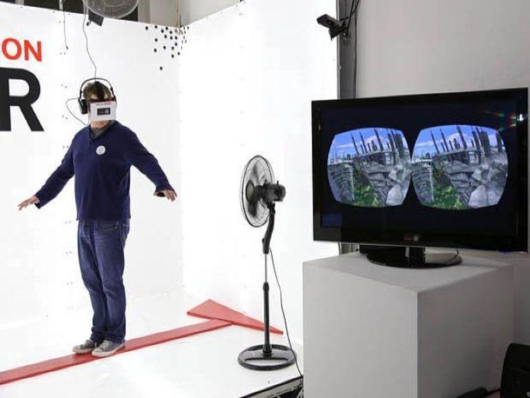 Vertigo Simulator : la réalité virtuelle en immersion totale