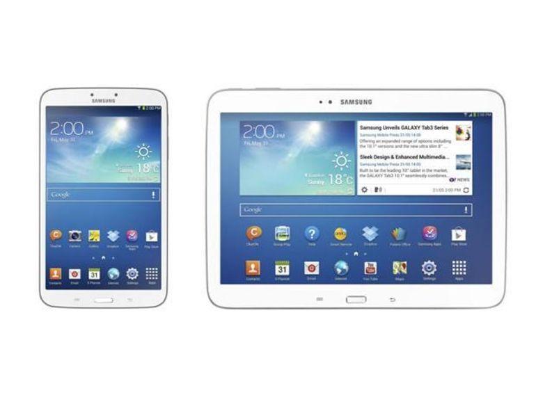 C'est officiel les Samsung Galaxy Tab 3 8.0 et 10.1 arrivent début juin