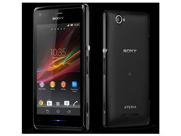 Sony présente le smartphone Xperia M