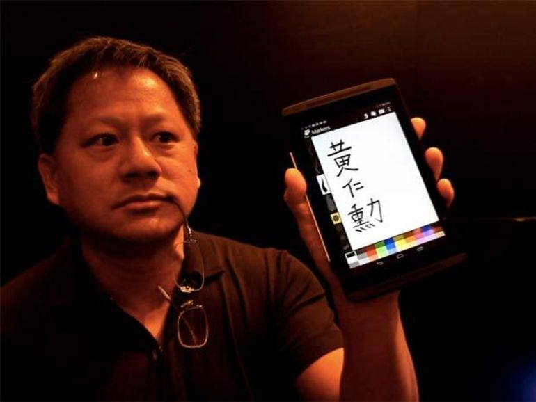 Ecran tactile : nVidia propose de dessiner avec n'importe quel stylo